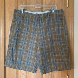 J. Crew Plaid Shorts 36